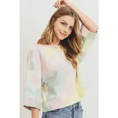 Touch And Go Tie Dye Top