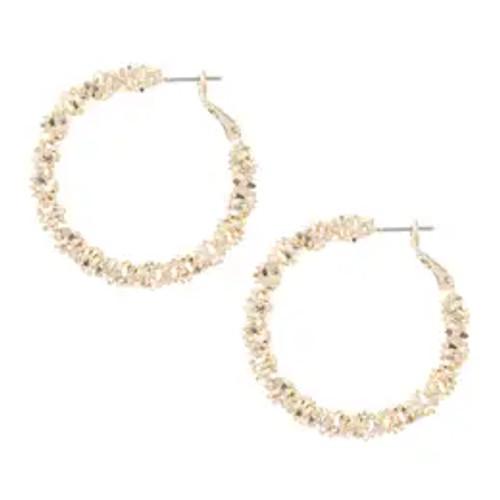 Happy Hoop Earrings