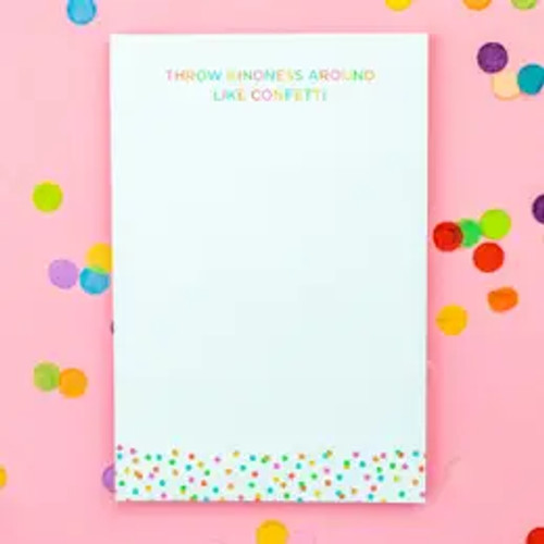Throw Kindness Around Notepad