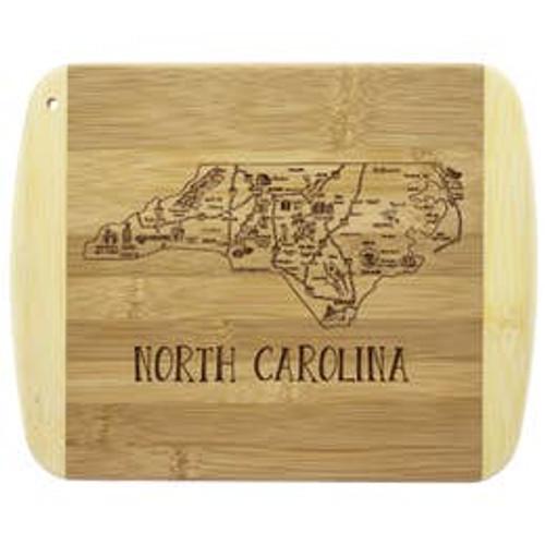 "A Slice of Life North Carolina 11"" Cutting & Serving Board"
