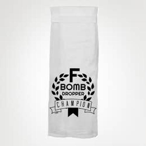 F Bomb Dropper Tea Towel