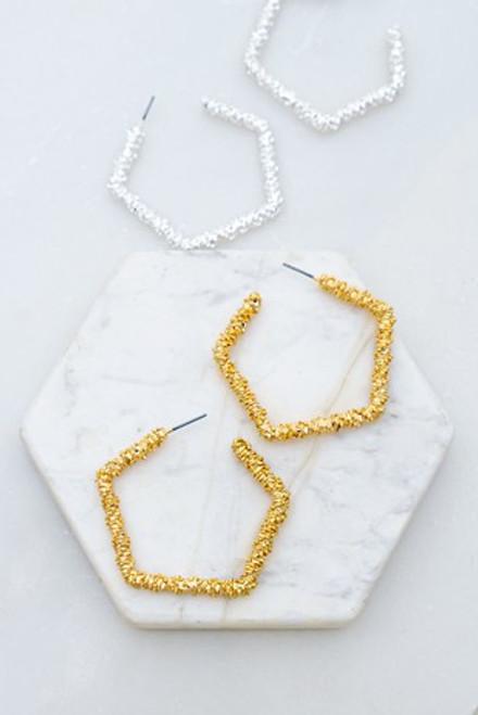 Glamorous Glittery Earrings