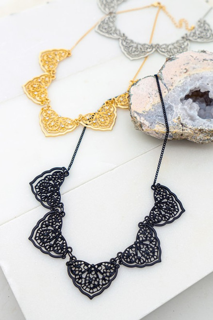 Neck Of Lace Necklace