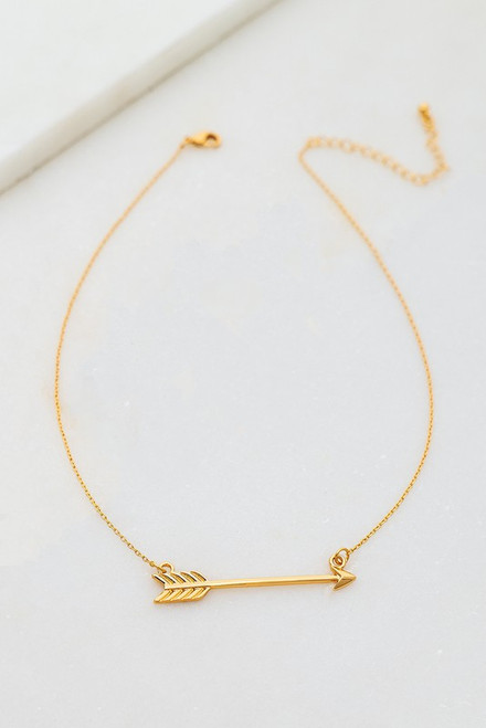 An Arrow To My Heart Necklace