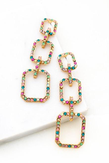 Pretty In Pastel Earrings