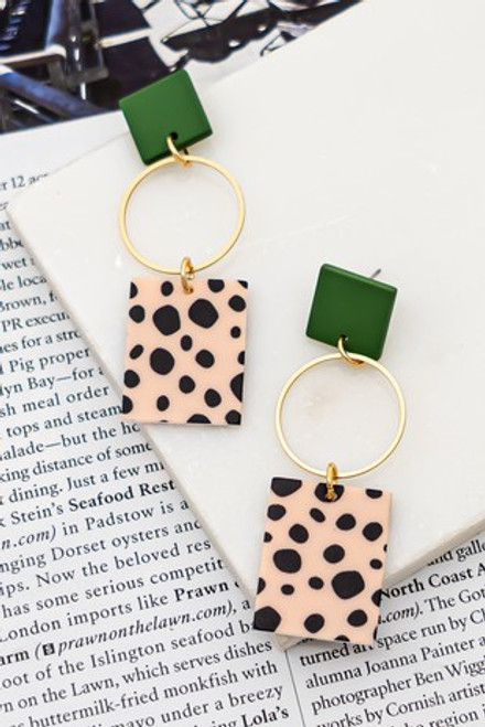 Simply Spotted Earrings