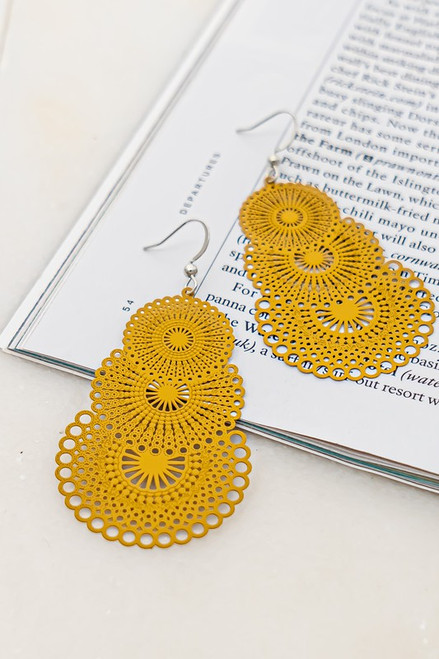 Totally Tiered Earrings