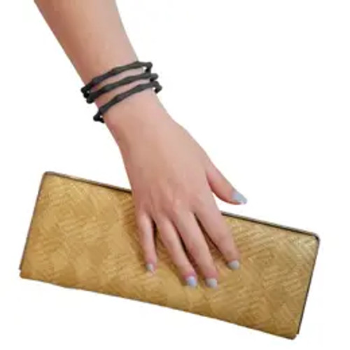 Be Happy Bamboo Bracelet