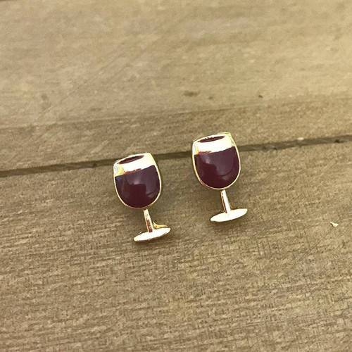 They Whine I Wine Earrings