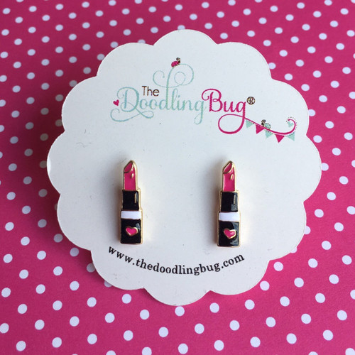 Perfect Pout Lipstick Earrings