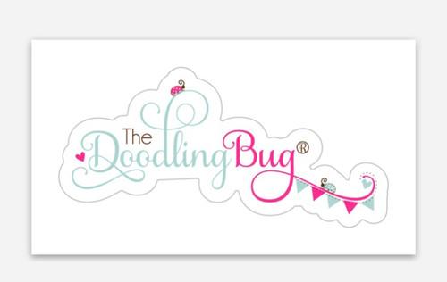 The Doodling Bug Sticker