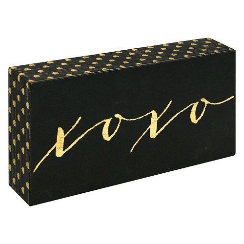 XOXO Box Sign