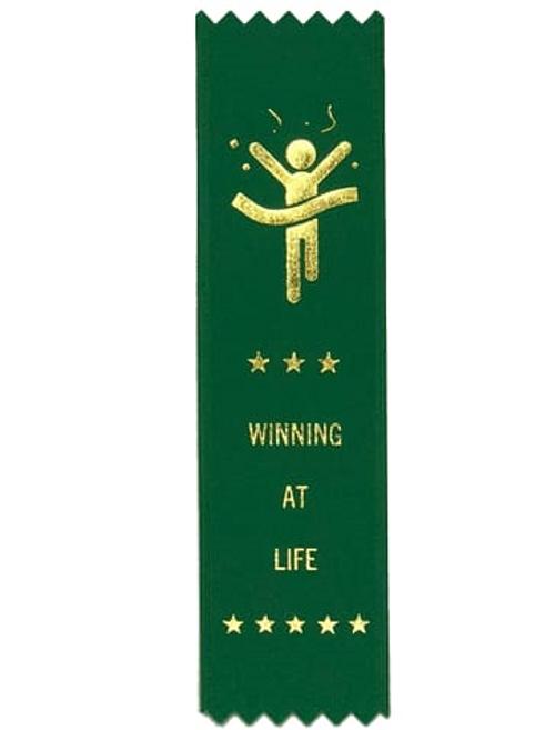 Winning At Life Participation Ribbon