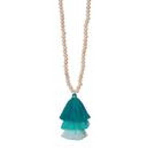 Ombre Trio Necklace in Turquoise FINAL SALE