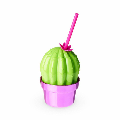 Holds 16oz  Shiny plated BPA free plastic  Includes reusable straw