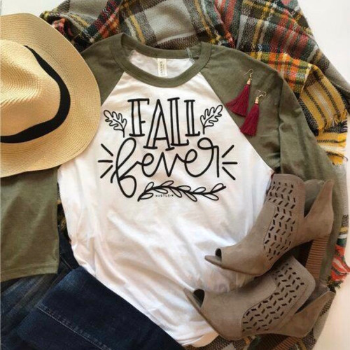 Fall Fever Raglan Top