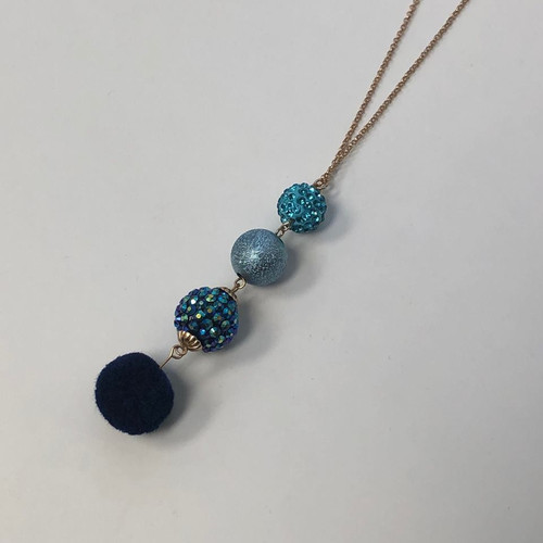 You'll Have A Ball Necklace