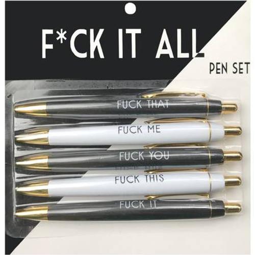 Fuck It All Pen Set