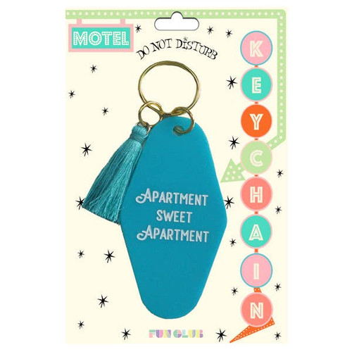 Apartment Sweet Apartment Keychain FINAL SALE