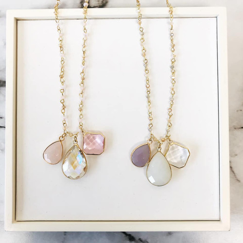 Crazy For You Drop Necklace