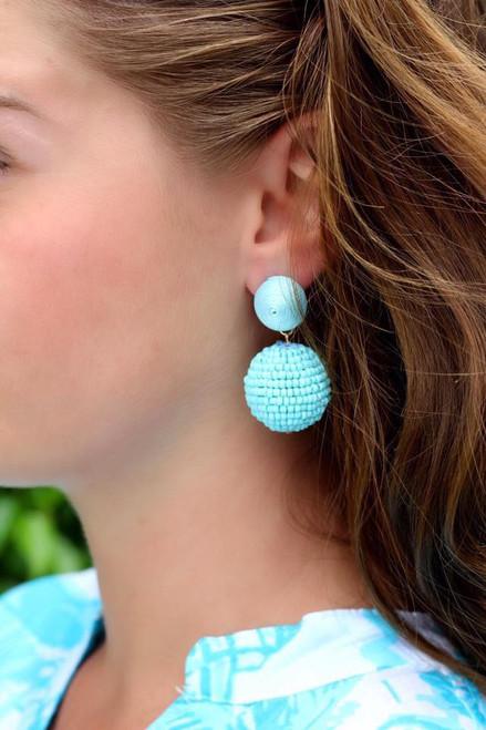 Beautiful In Blue Earrings