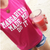 Margaritas Made Me Do It T-Shirt In Pink