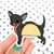 Chihuahua Taco Dog Vinyl Sticker