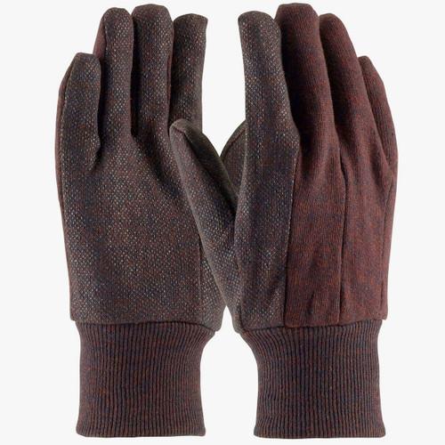 Brown Jersey Gloves Plumbing Supplies