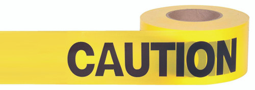 Yellow Caution Tape Safety Gear Plumbing Supplies