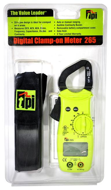 TPI 265 Digital Clamp Multimeter Plumbing Supplies HVAC Tools