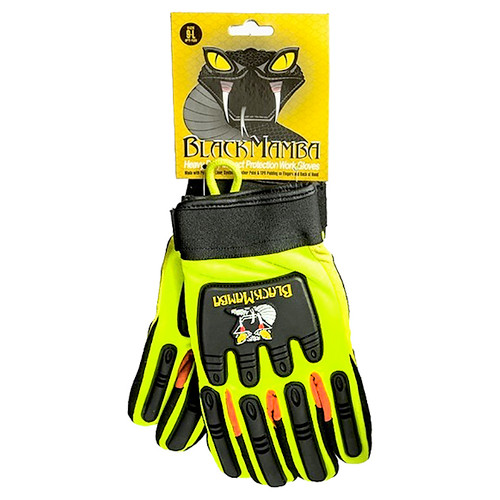 Black Mamba Heavy Duty Impact Gloves • XXL Plumbing Supplies Tankless Parts