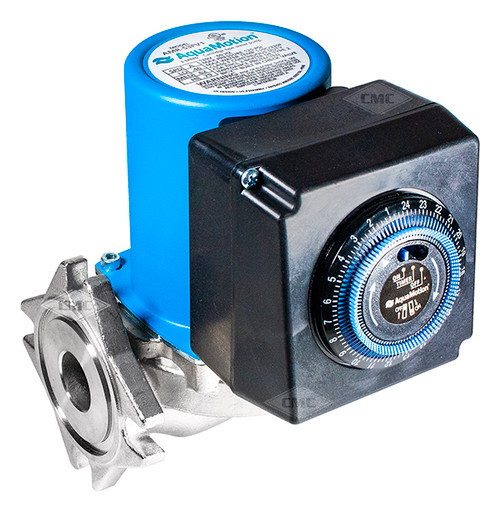 Aquamotion® Wet Rotor Circulator Pump: Flange, 4 Bolt Flange Plumbing Supplies Tankless Parts