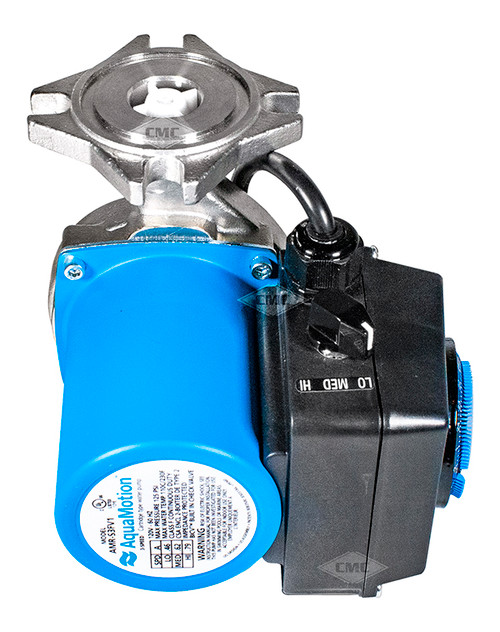 Aquamotion® Wet Rotor Circulator Pump: Flange, 4 Bolt Flange