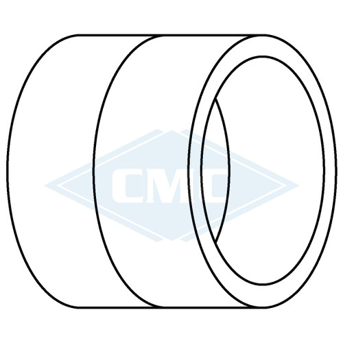 IPEX© System 1738® PVC Flue Gas Vent Coupling (3 sizes)