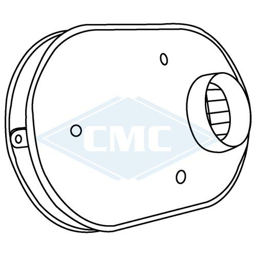 IPEX© System 1738® PVC Flue Gas Vent Low-Profile Termination Kit (3 sizes)