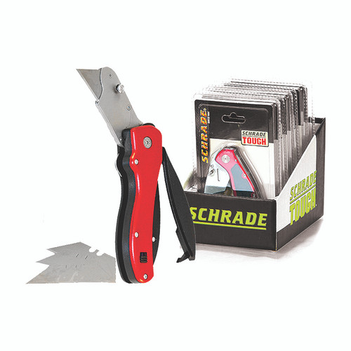 SCHRADE Utility Knife / Box Cutter Hang Pack Plumbing Tools