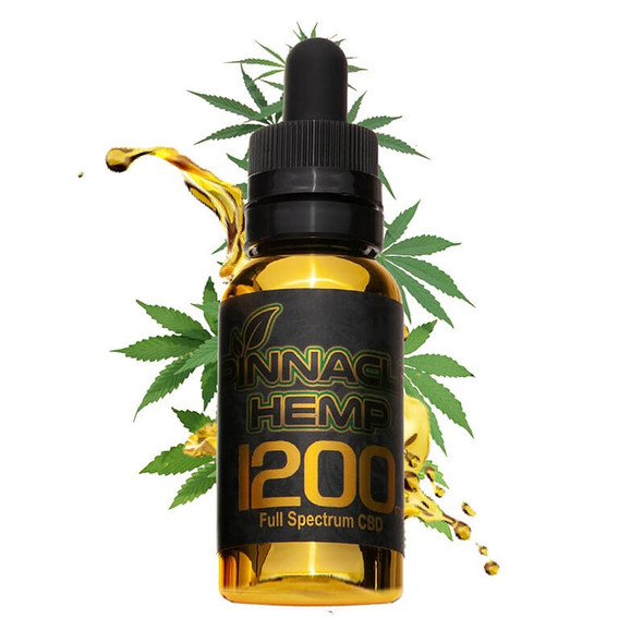 Pinnacle CBD Tincture 30ml 1200mg