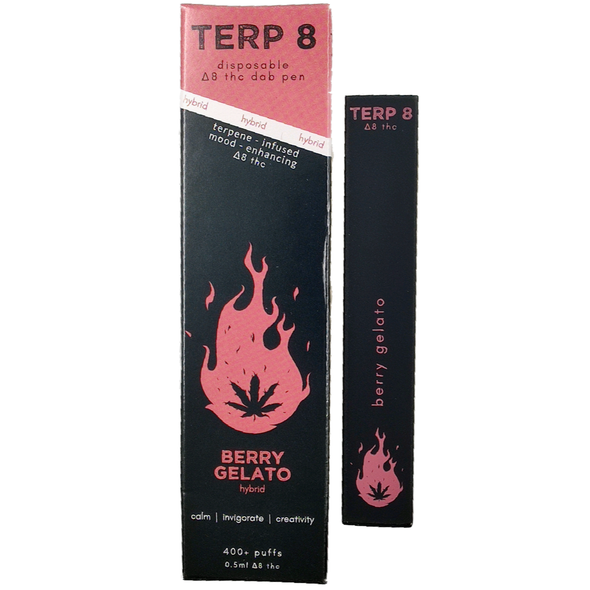 Berry Gelato Disposable Delta-8 Dab Pen Terp 8