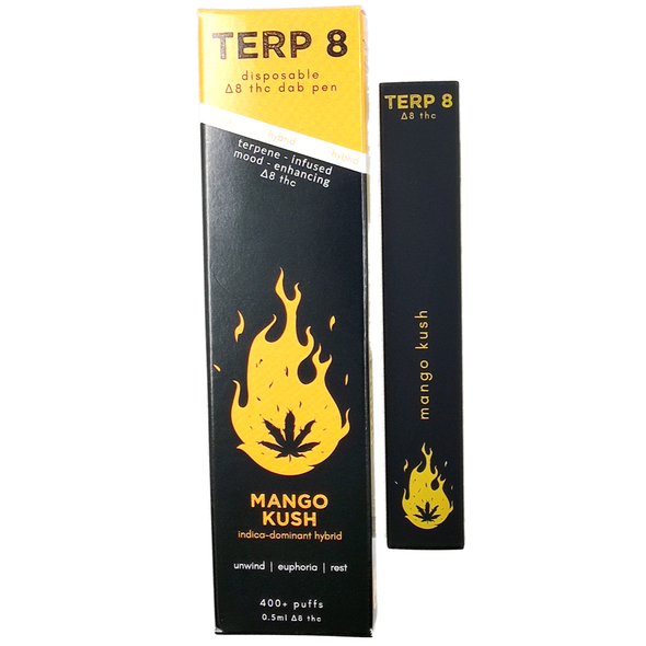 Mango Kush Disposable Delta-8 Dab Pen Terp 8
