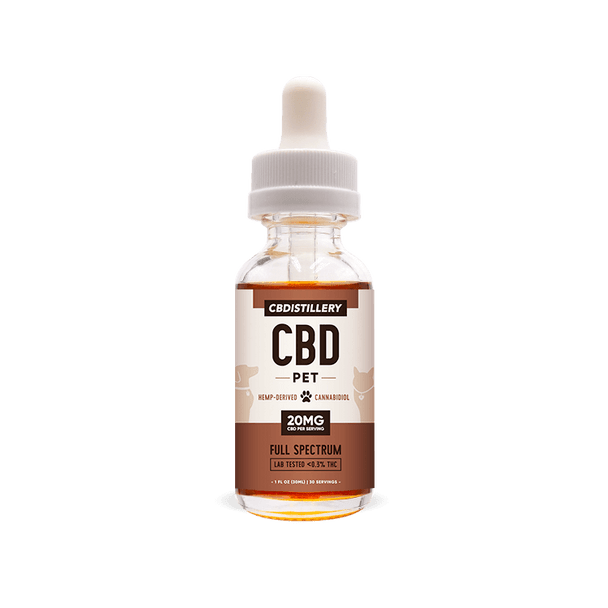 cbdistillery pet 600mg