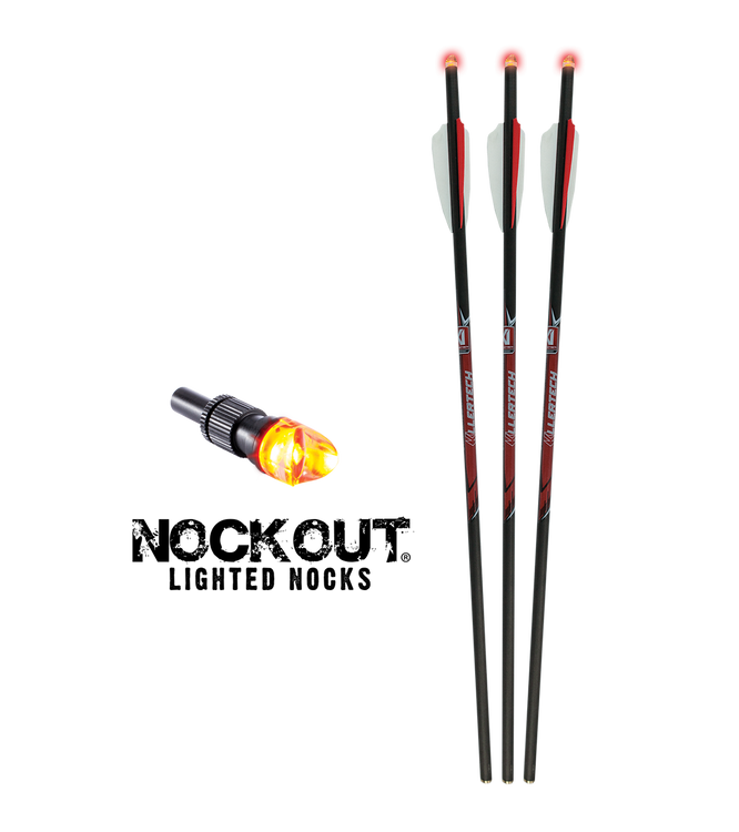 Lumix KillerTech™ Pro Lighted Crossbow Bolts 3-Pack