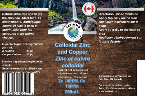 Colloidal Copper & Zinc