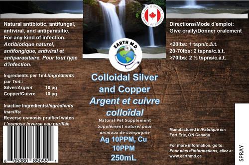 Colloidal Silver & Copper