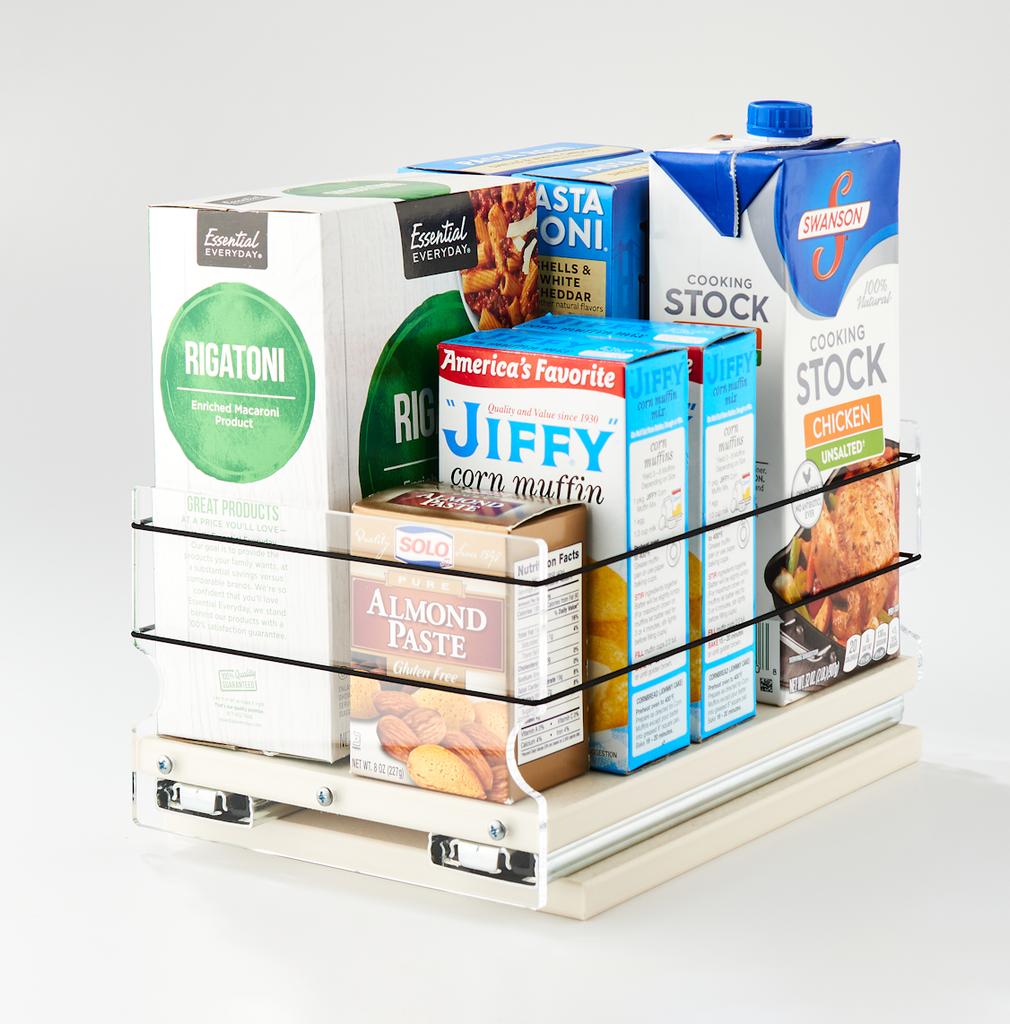 5x1x11 Storage Solution Drawer Cream - Versatile Cabinet Organization