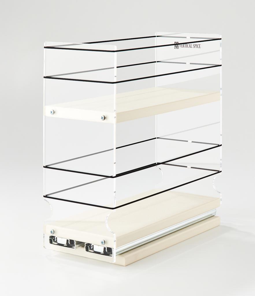 4x2x11 Storage Solution Drawer Cream