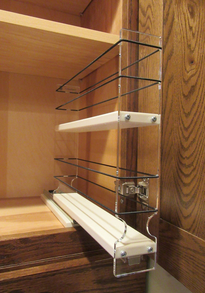 Spice Rack 2x2x11, Cream - Empty Out