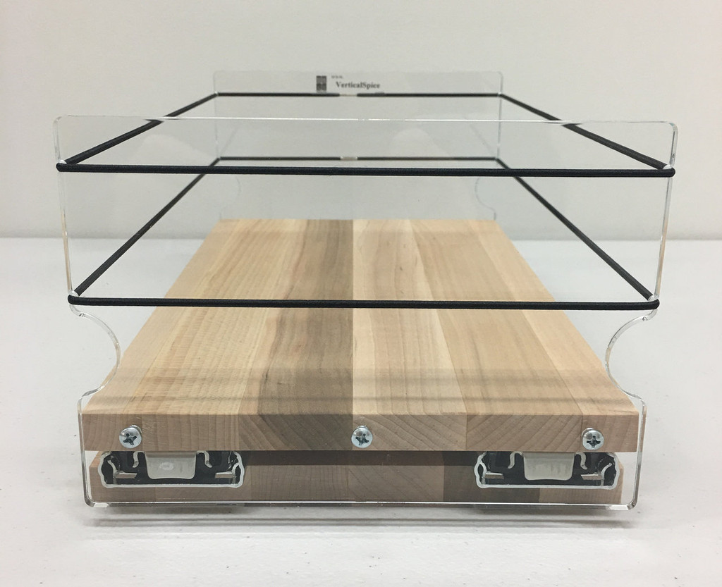 6x1x11 Spice Rack, Maple