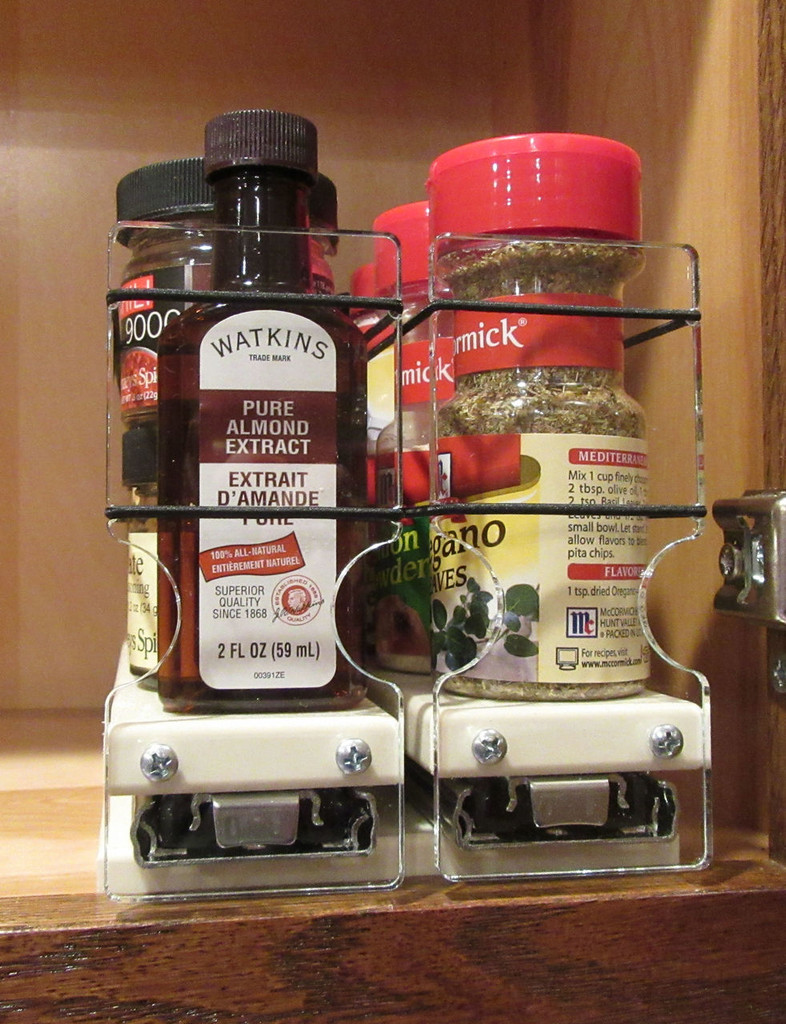 Spice Rack 22x1x11 Cream
