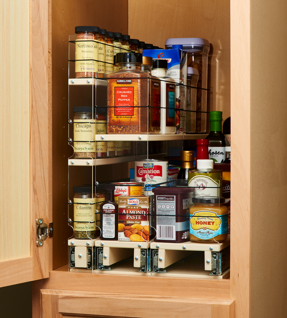 Multiple Organization Drawers for Full Cabinet Utilization