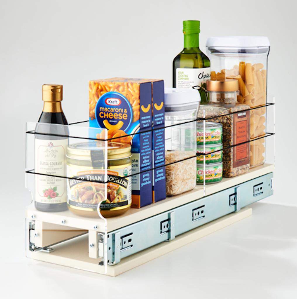 Storage Solution Drawer 5x1x22 Cream - Reach the Full Depths